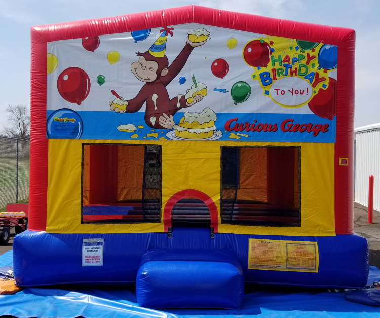Curious George B-Day