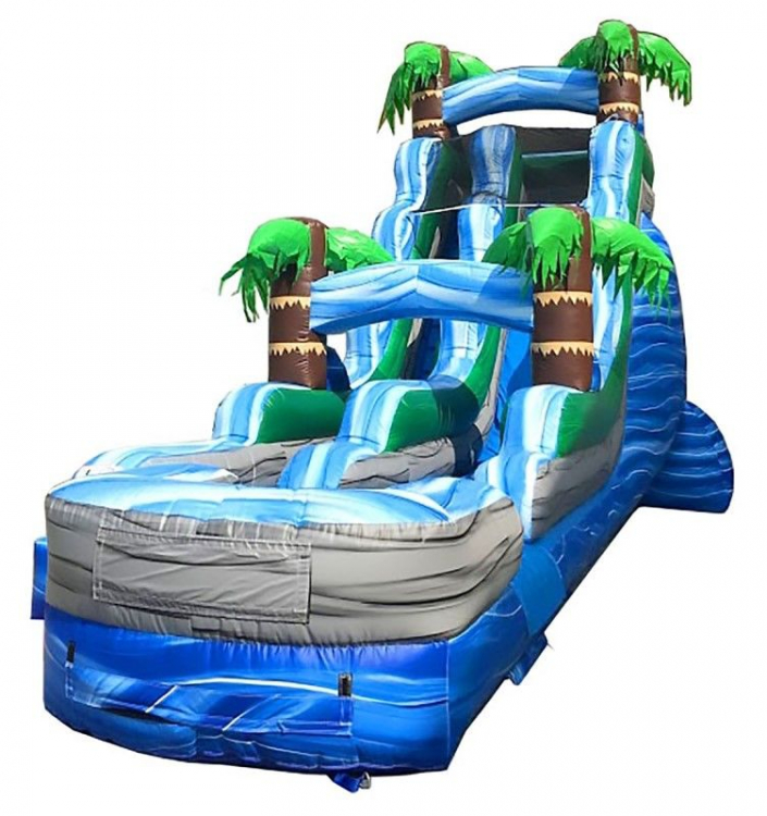 18' Tropical Wet/Dry Slide