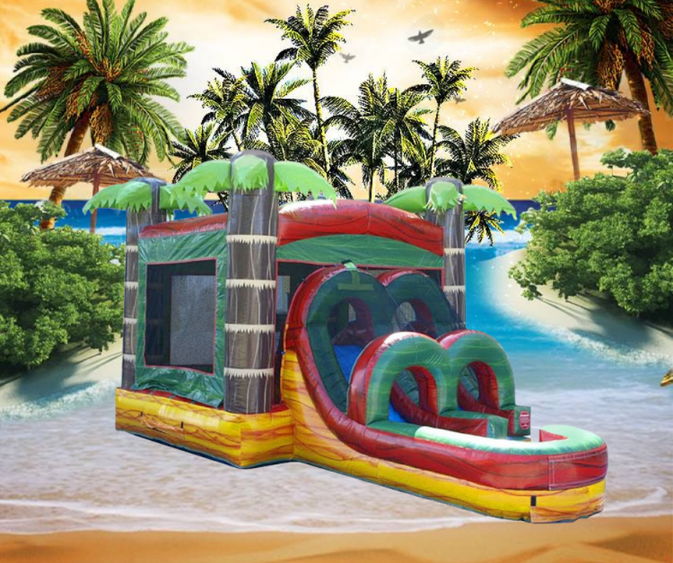 Kids Tropical Fire Marble Combo Wet/Dry