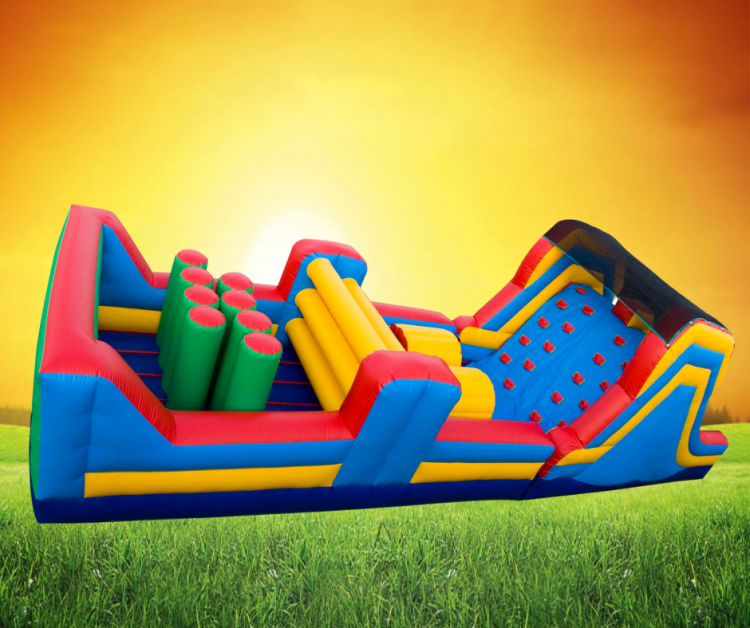 40' Climb & Slide Obstacle Course